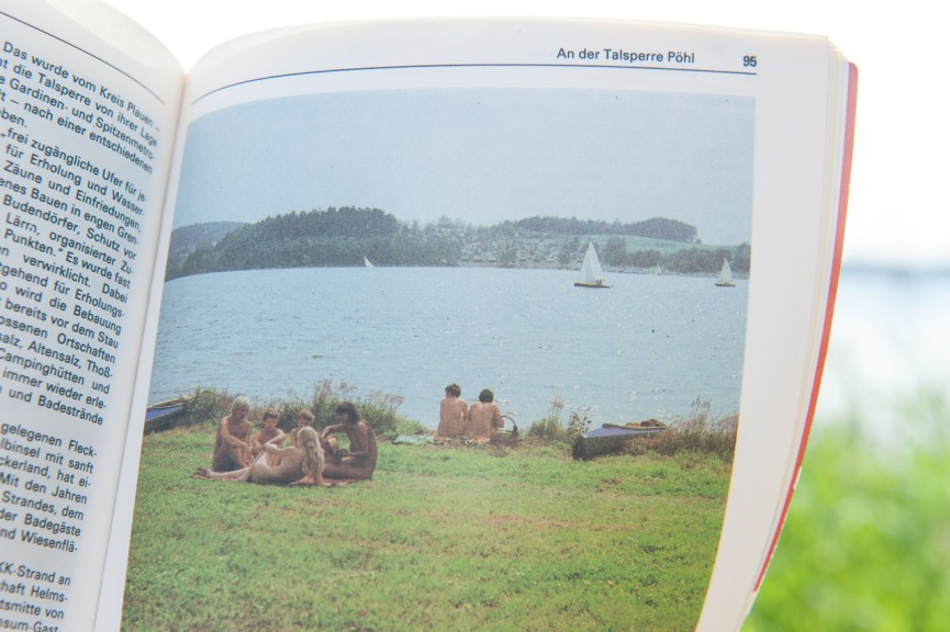 Idyllic scene from GDR FKK site. (Photo: Jo Zarth)