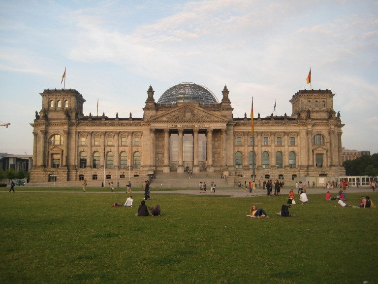 The historic building of the Reichstag (the Diet of the German Empire, 1871–1945), Berlin, since 1999 home of the Bundestag. (Photo: Maximilian Georg)