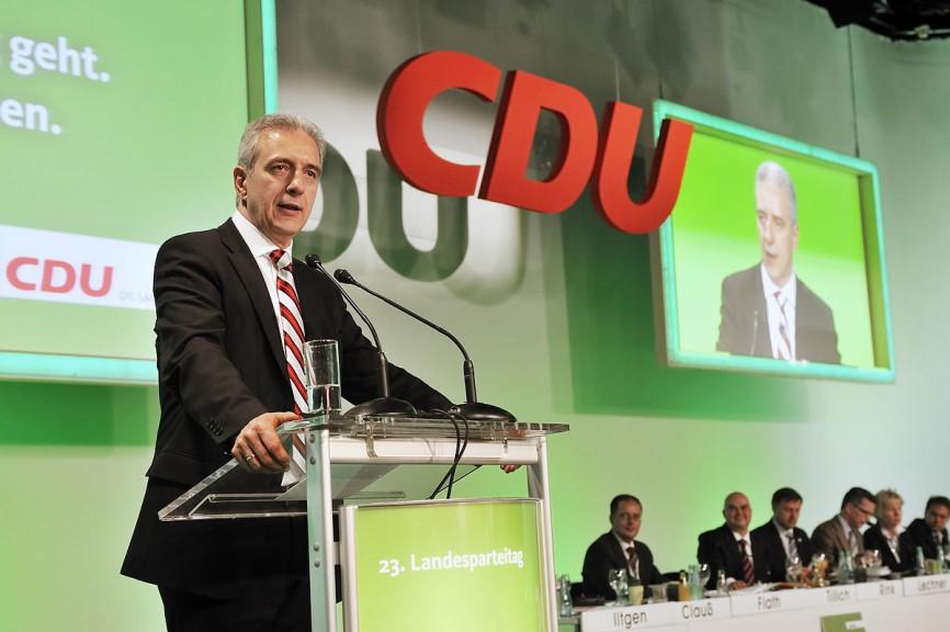Stanisnaw Tillich, CDU, (former!) Prime Minister of Saxony. (By Frank Grätz / BLEND3 - CDU Sachsen, CC BY-SA 3.0)