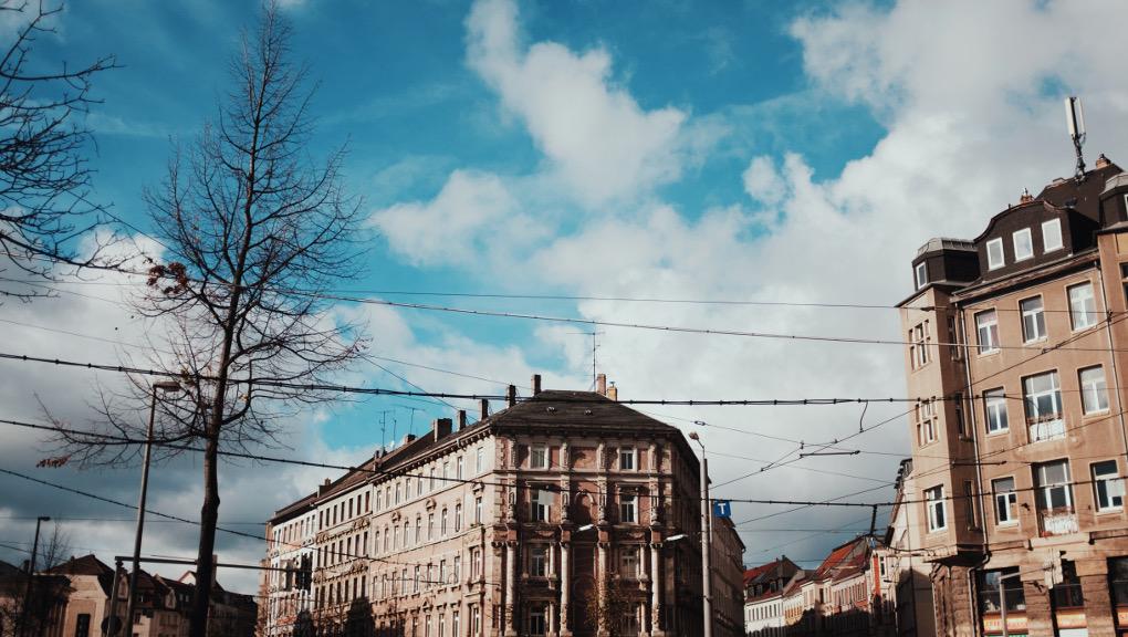 On location in Reudnitz with Sprachschule Paroli German language school. (Photo: Henk Otte)