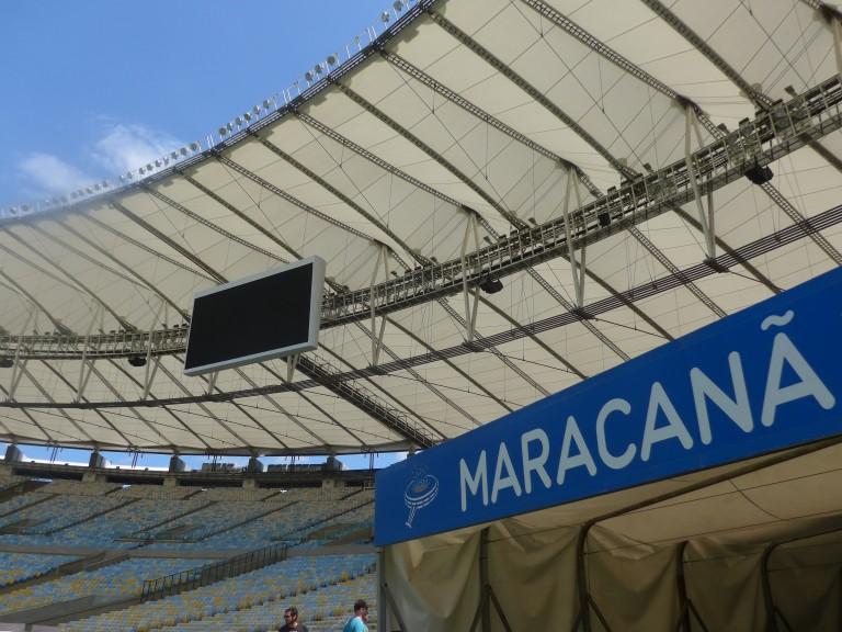 Maracanã Stadium, Rio de Janeiro. (Photo: Daniel Leon)