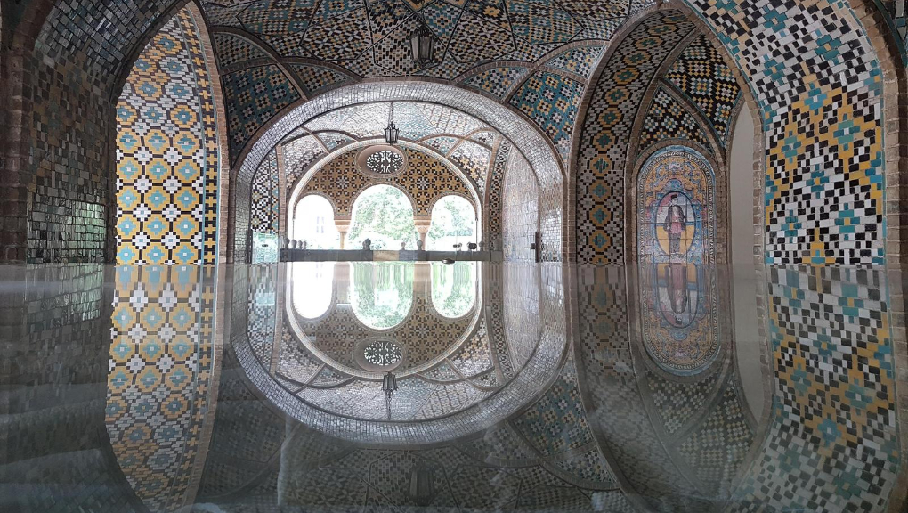 The Golestan Palace in Tehran, capital of Iran. Photo © Anne-Coralie Bonnaire
