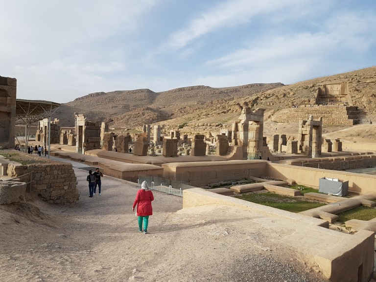 Persepolis. Photo © Rébecca Bonnaire