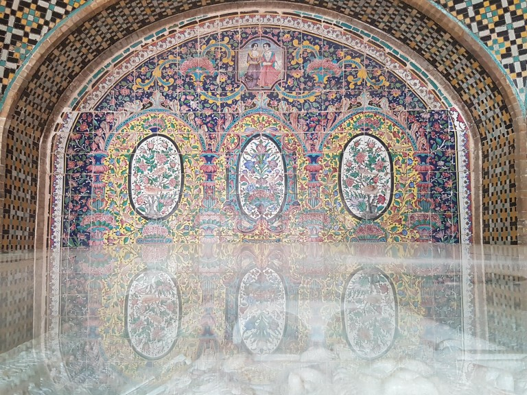 Golestan Palace. Photo © Anne-Coralie Bonnaire