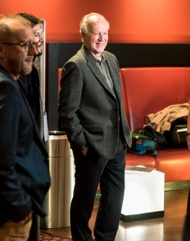 Werner Herzog at CineStar Leipzig, 29 Oct 2018. (Photo: Justina Smile Photography)