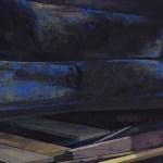 detail: Katrin Heichel, Scheitern [Heim III] 2018, Oil on Canvas, 210x300cm, photo courtesy of Josef Filipp Gallery