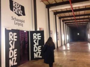 The entrance to the Residenz at Spinnerei. (Photo: Ana Ribeiro)