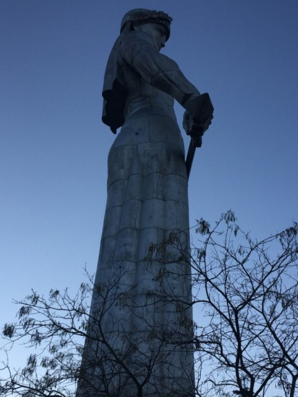 Mother of Georgia, Tbilisi