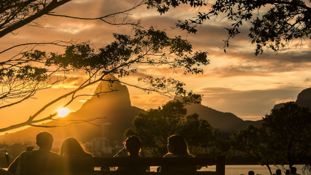 Joao gilberto and Rio's Sugar Loaf Mountain