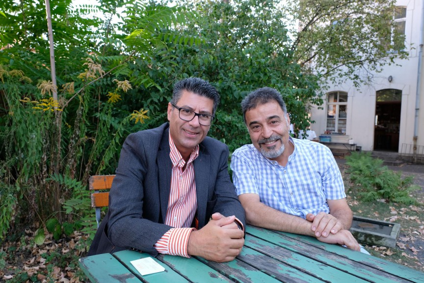 Lebanon in Leipzig: Artist Mahmoud Dabdoub and doctor Marwan Nuwayhid in 2019