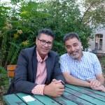 Lebanon in Leipzig: Artist Mahmoud Dabdoub and doctor Marwan Nuwayhid in 2019