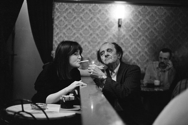 Photo by Mahmoud Dabdoud, Leipzig in the GDR, 1984