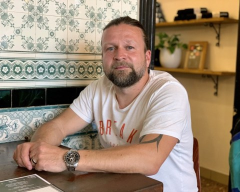 Alexander Grothe, owner of the Central Globetrotter Hostel