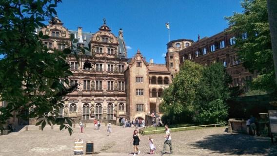 Castle Courtyard, Heidelberg