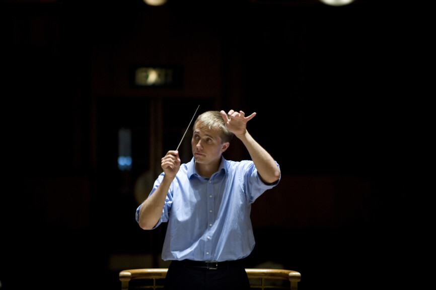 Vasily Petrenko conducting at Hope Street Liverpool