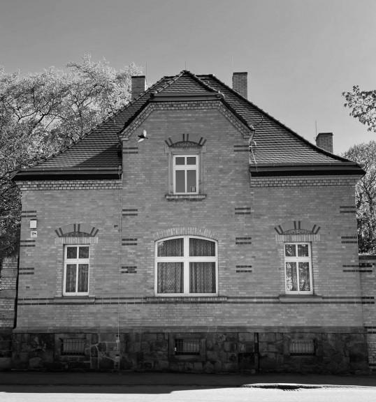 Former residence of the cemetery supervisor, Friedenspark, Leipzig