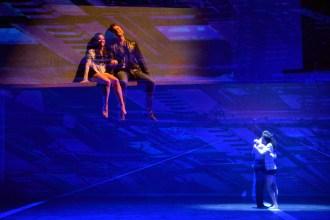"""Die """"West Side Story"""" - die Urmutter des Musicals von Leonard Bernstein - feiert Premiere am Opernhaus Leipzig, als spartenübergreifende Produktion von Oper und Leipziger Ballett. Die tragische Liebesgeschichte von Tony und Maria inmitten zweier verfeindeter Gangs, wird von einem international gecasteten Solistenensemble, dem Opernchor, dem Gewandhausorchester und dem Leipziger Ballett erzählt. Die musikalische Leitung hat Intendant und Generalmusikdirektor Prof. Ulf Schirmer. Ballettdirektor Mario Schröder inszeniert und choreografiert. Noch einige Restkarten sind erhaeltlich ... Foto: Volkmar Heinz / volkmar@heinz-report.de"""