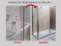 Wanne zur Dusche in nur 8 Stunden  Badbarrierefrei Leipzig