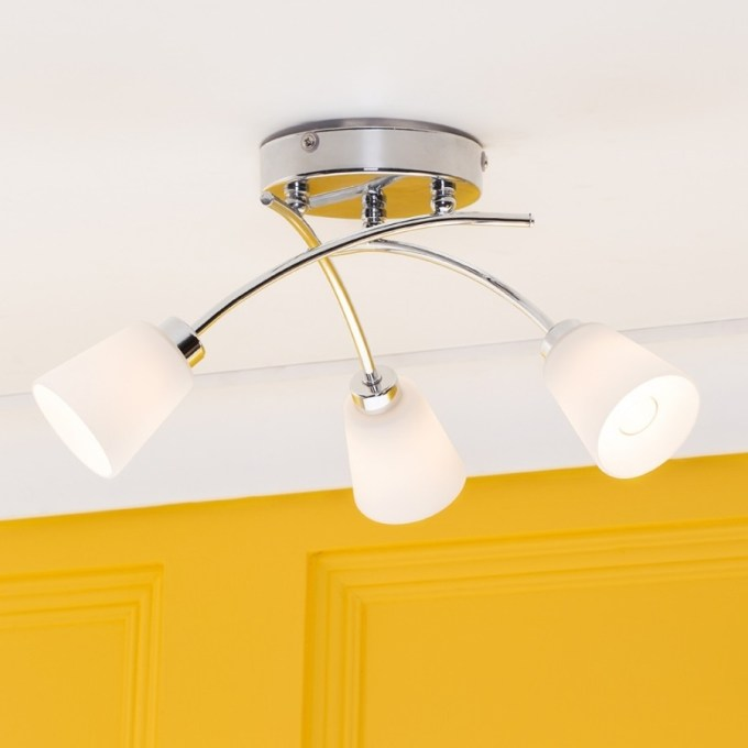 Flush Ceiling Lights Homebase
