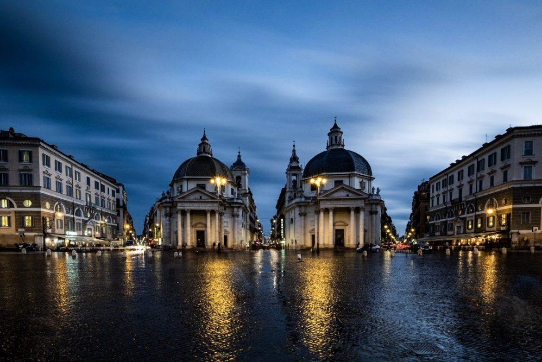 Piazza del Popolo - in colours