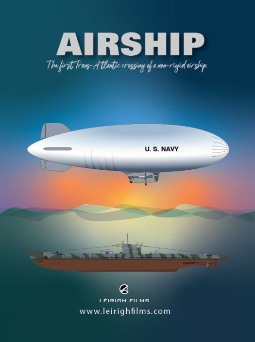 Airship, The first Trans-Atlantic crossing of a non-rigid airship.