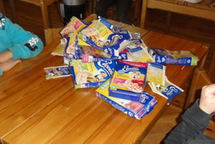 Kuinaka paljon jätteitä ostat kotiin kuukaudessa?