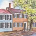 Historic house portrait: Charleston, SC