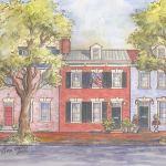 Historic house portrait: Philadelphia, PA