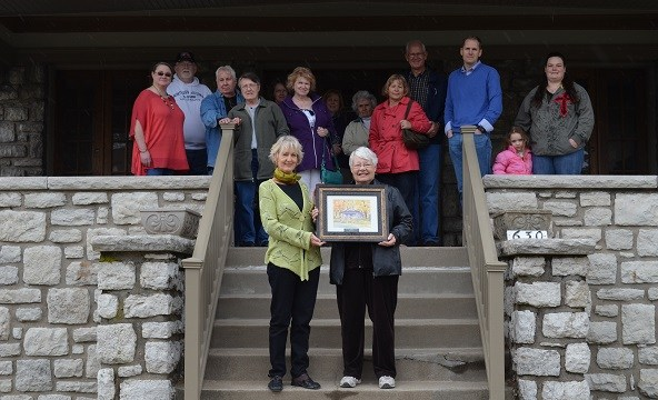 USA Historic Preservation Tour –  Fourth Award Presentation and Restored Craftsman