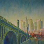 Dawn-Downtown-LA---Acrylic-on-Canvas---24-x-36-inches---$-1120small