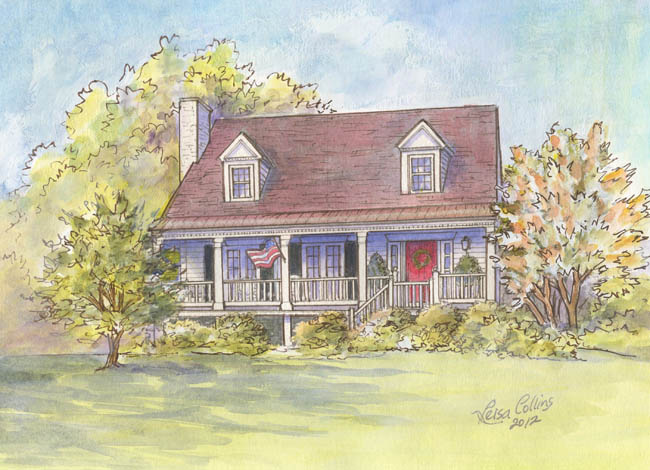 Alabama-Rural-French-Colonial-Farmhouse-