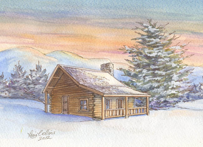 Boulder-Colorado-Log-Cabin