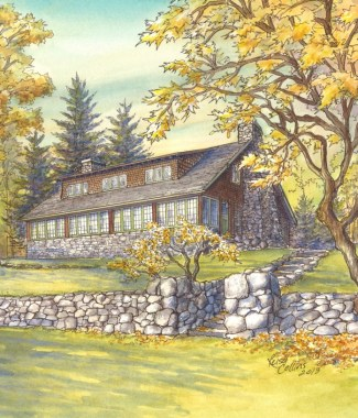 Arts & Crafts Historic Places - Gustav Stickley Homestead, (1024x815)