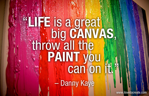Love this creativity quote by Danny Kaye!