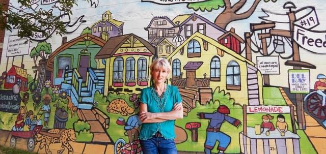 A fun mural project I spearheaded in Alexandria, VA
