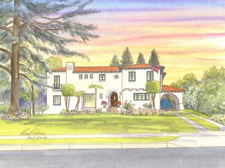 Elegant Spanish home in Glendale, CA