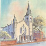 OPTSt Marys Church. Old Town Alexandria - SOLD