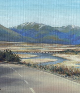 SOLD - Headng for the Southern Alps NZ