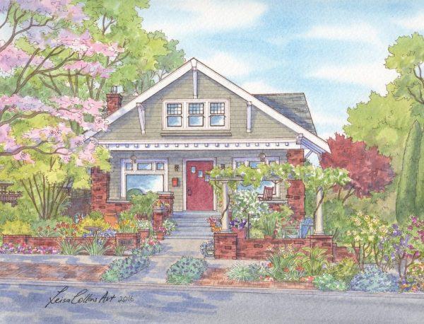 NE Flanders St, Laurelhurst Portland (1024x782)