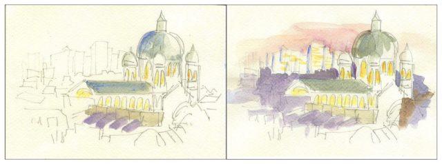 Paris color study