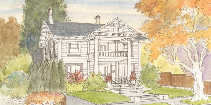The Six Steps I take to Create a House Portrait