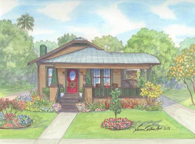 CRAFTSMAN HOME AFTER RENOVATION