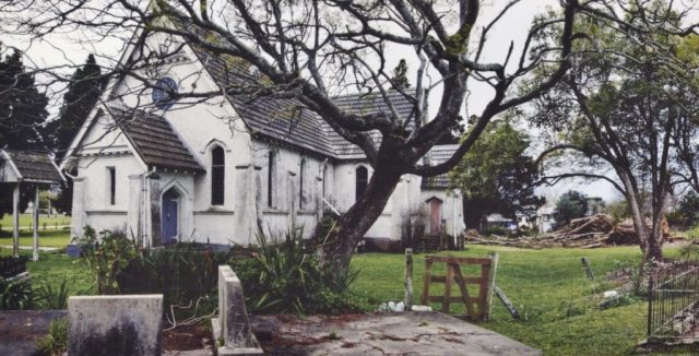 The Toko Toru Tapu Church in 2010 before the restoration.
