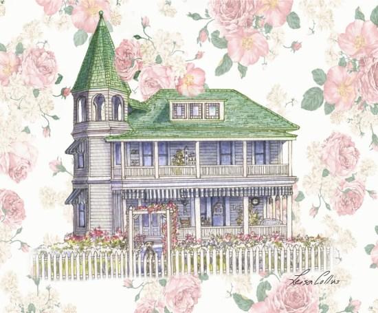 Victorian Rose - Victorian Era Art by Leisa Collins