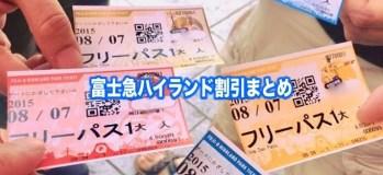 富士急 ハイ ランド チケット