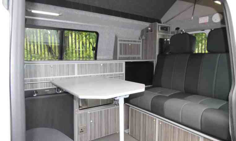 Crusader Campervan with dining table