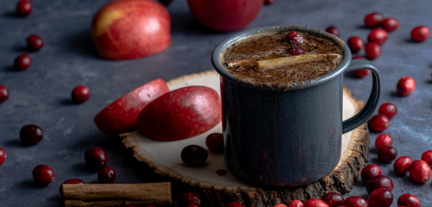 Hot Buttered Rum with Apple Cider
