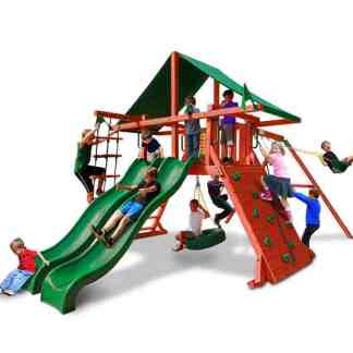 Gorilla Sun Valley Extreme Play set swing set
