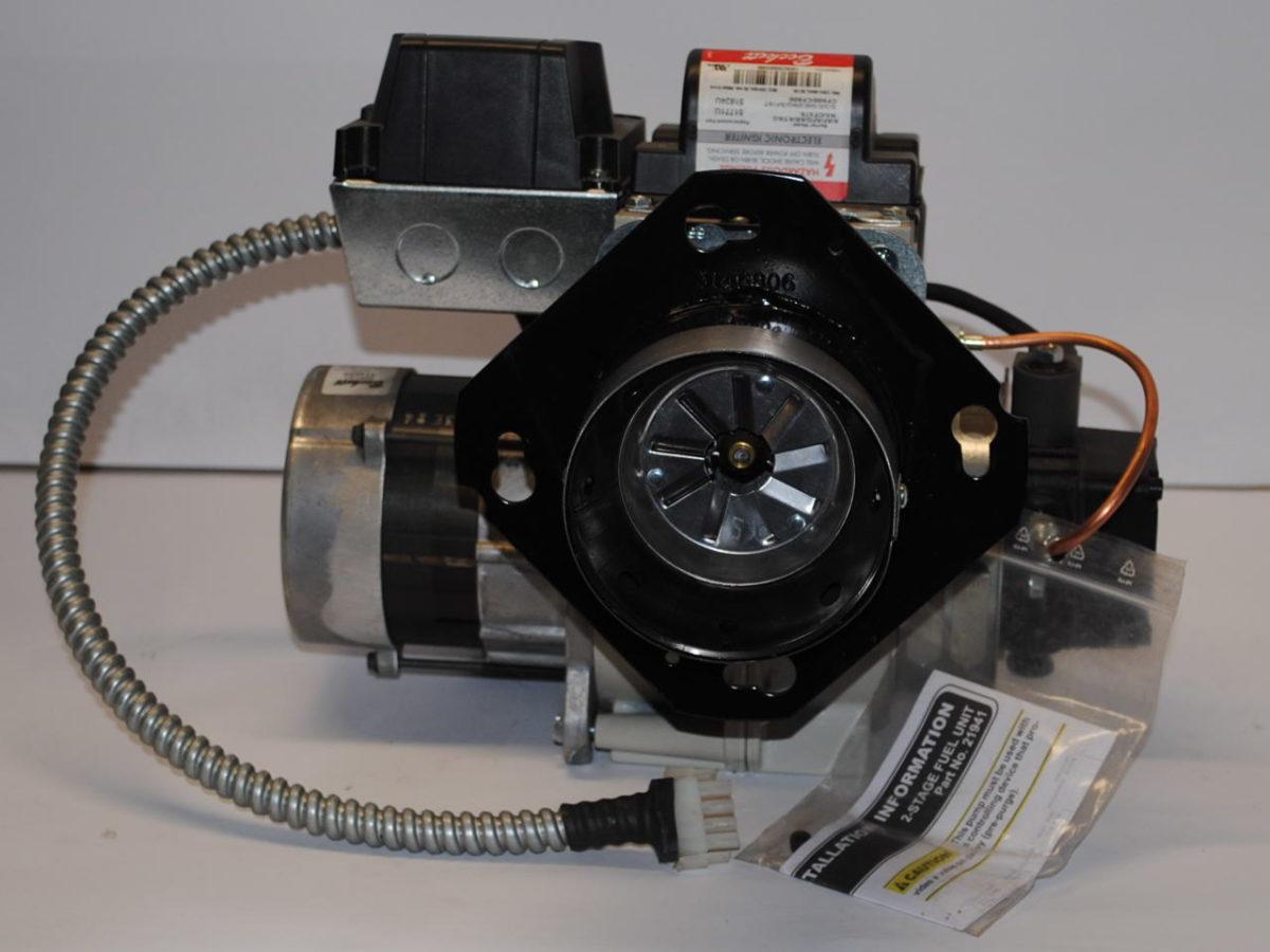 beckett oil one switch two lights wiring diagram burner gun complete for wl 165 boiler leisure line