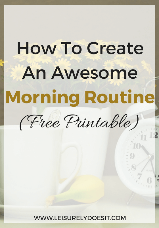 A great morning routine can lead to a more productive day. Learn how to start your day off right with this guide that helps you create one of your own.
